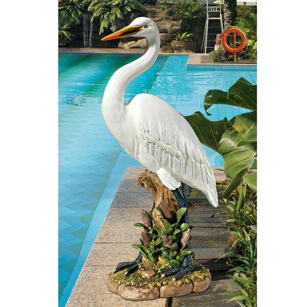 Egret Statue Wayfair