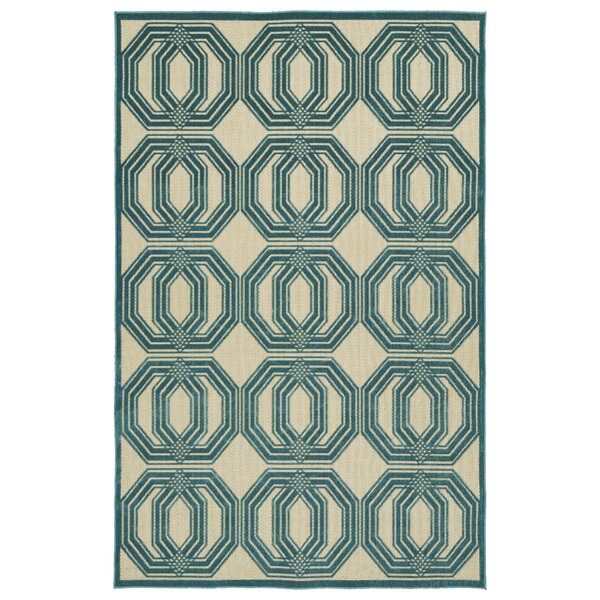 Covedale Blue Indoor/Outdoor Area Rug by Charlton Home