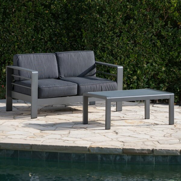 Orme 2 Piece Sofa Set with Cushions by Ebern Designs