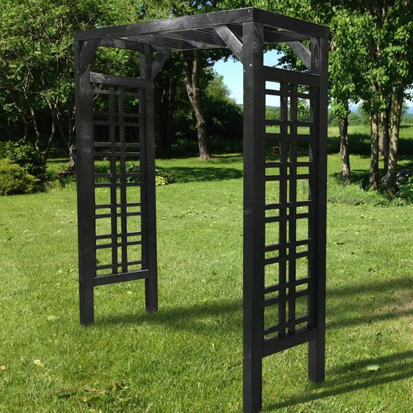 Florence Wood Arbor by European Garden Living