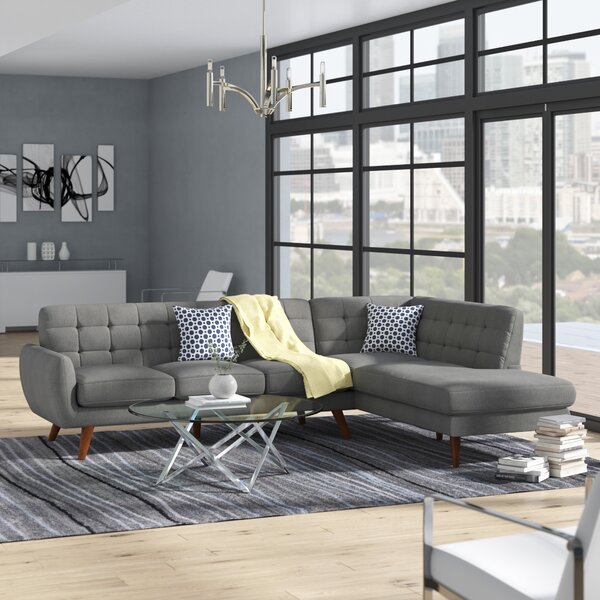 Adley Right Hand Facing Sectional By Wrought Studio