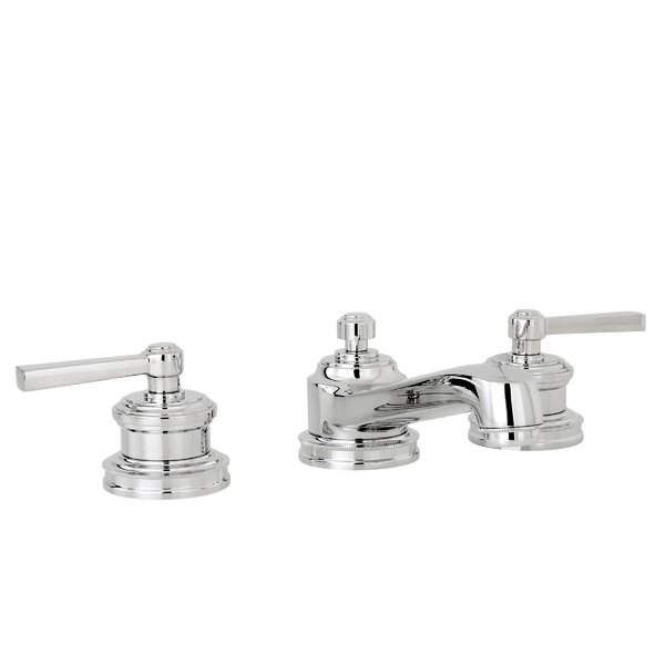 Miro Lavatory Widespread Bathroom Faucet with Drain Assembly by Newport Brass Newport Brass