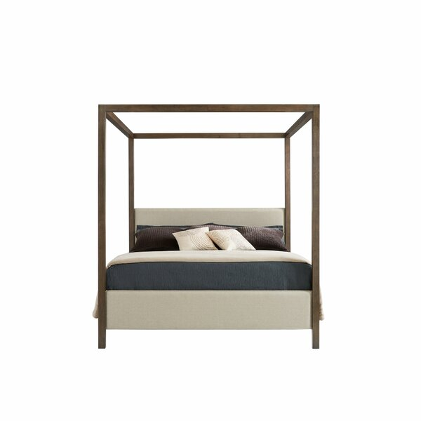 Panavista Upholstered Canopy Bed by Stanley Furniture