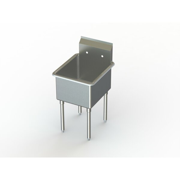 Economy NSF 57 x 27 Free Standing Service Sink by Aero Manufacturing