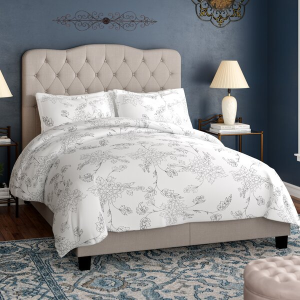 Rockhampton Upholstered Panel Bed by Charlton Home