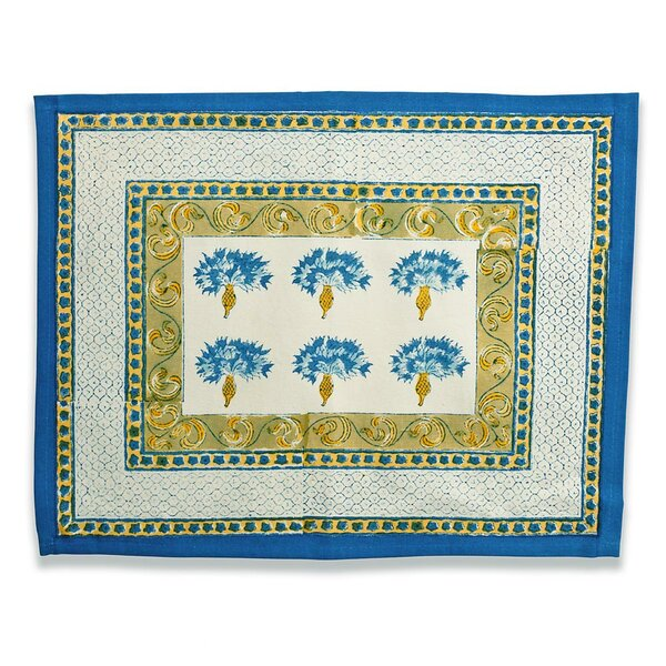 Bleuet Placemat (Set of 6) by Couleur Nature
