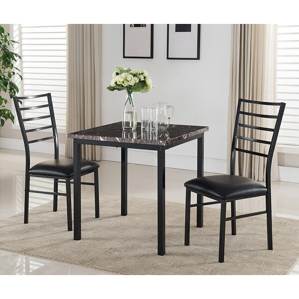 Kandi 3 Piece Dining Set by Latitude Run
