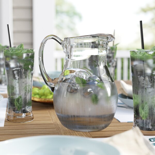 Croyden 64 Oz. Pitcher by Beachcrest Home