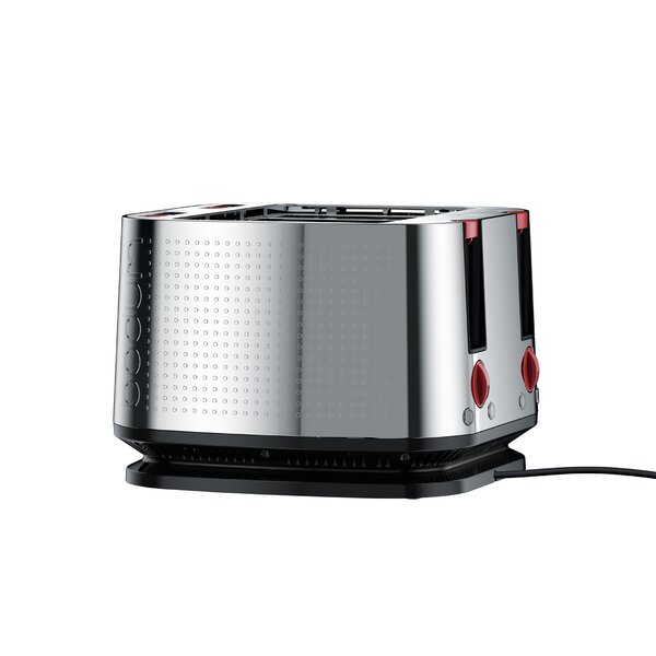 4 Slice Bistro Stainless Steel Toaster by Bodum