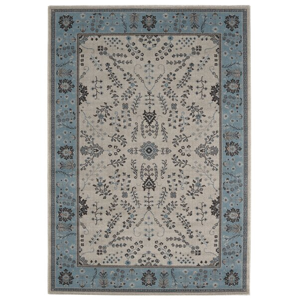 Giglio Blue Area Rug by Bloomsbury Market