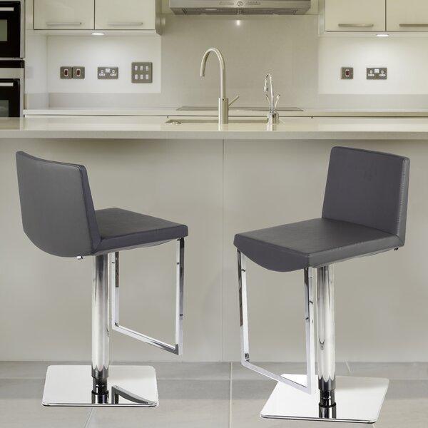 Adjustable Height Swivel Bar Stool by Stilnovo Stilnovo