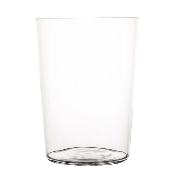 Spanish 17 oz. Glass Every Day Glasses (Set of 4) by Canvas Home