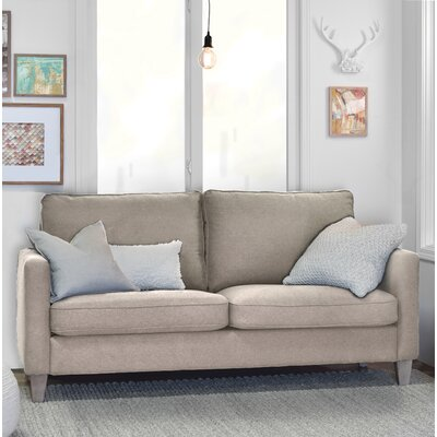 Elle Decor Arm Sofa Square Beige Sofas