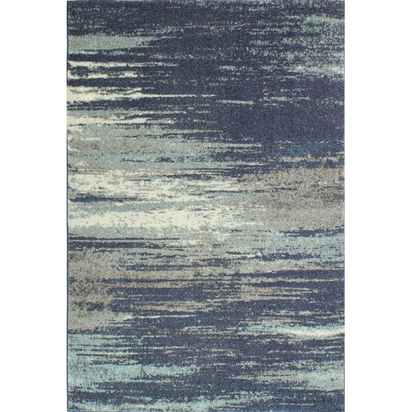 Heilman Blue Area Rug by Wrought Studio