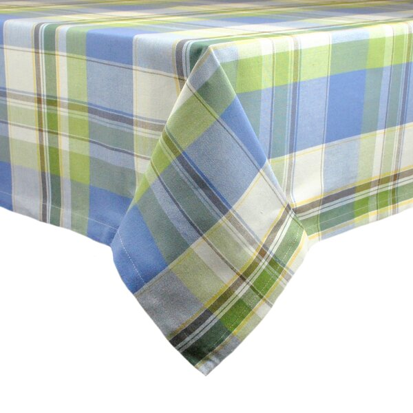 Lake House Plaid Tablecloth by Design Imports