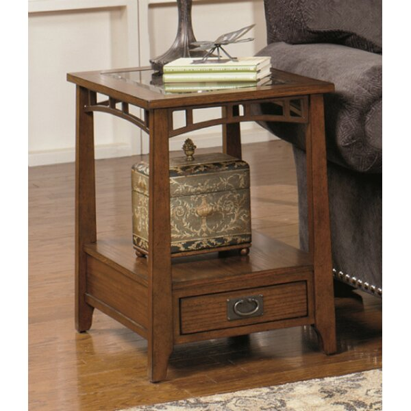 Landrienne Rectangular End Table by Loon Peak