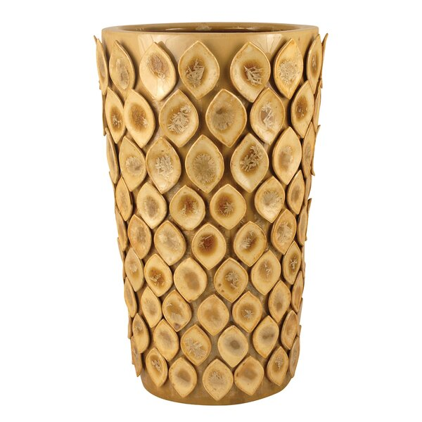Glazed Ginger Umbrella Stand by Bay Isle Home