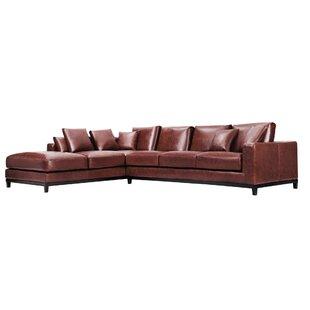 Leather Sectional Sofas Youu0027ll Love | Wayfair
