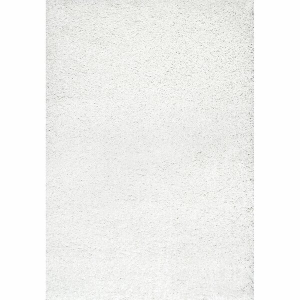 Welford White Shag Area Rug by Willa Arlo Interiors