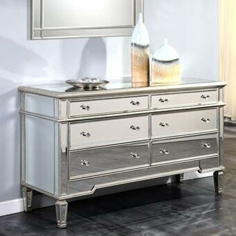 Ake 6 Drawer Double Dresser by Willa Arlo Interiors