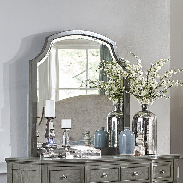 Langdon-Gray Arched Dresser Mirror by One Allium W