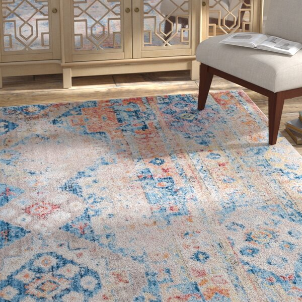 Bearden Blue Area Rug by Bungalow Rose