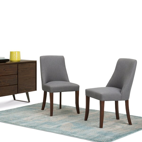 Bouie Deluxe Upholstered Dining Chair (Set of 2) by Canora Grey