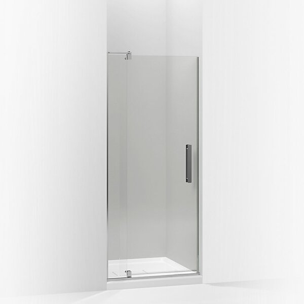 Revel 27.25'' x 70'' Pivot Shower Door with CleanCoat® Technology by Kohler