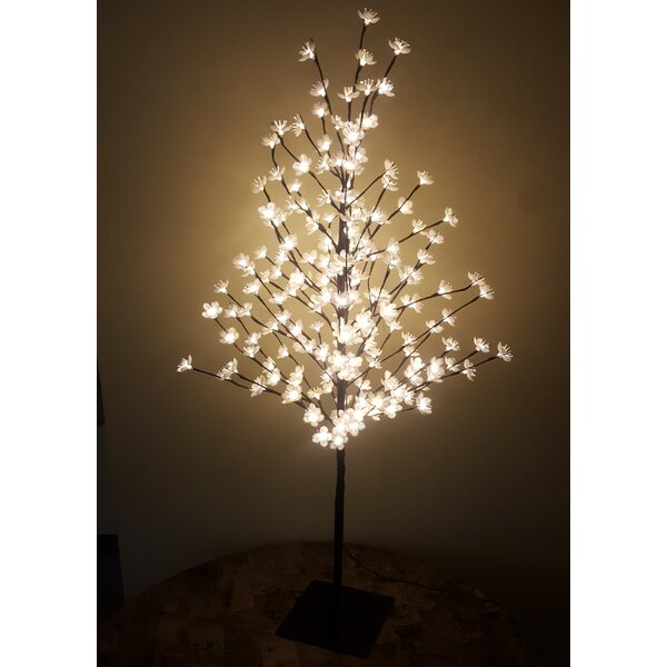 Outdoor 200 Warm LED Lights Cherry Blossom Tree by Hi-Line Gift Ltd.
