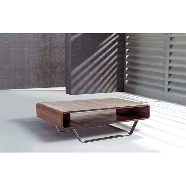 Stepp Coffee Table with Tray Top by Orren Ellis Orren Ellis