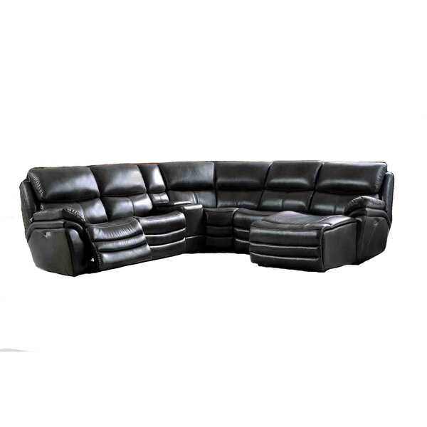 Delsur Reclining Sectional by Latitude Run