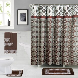 Savings Enno Shower Curtain Set By Darby Home Co