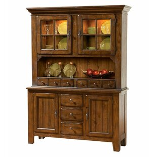 Attic Lighted China Cabinet by Broyhill®