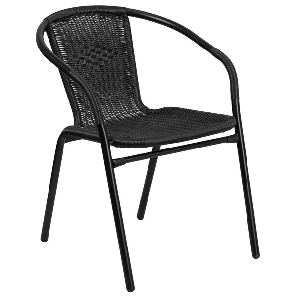 Justin Stacking Patio Dining Chair By Three Posts by Three Posts Best