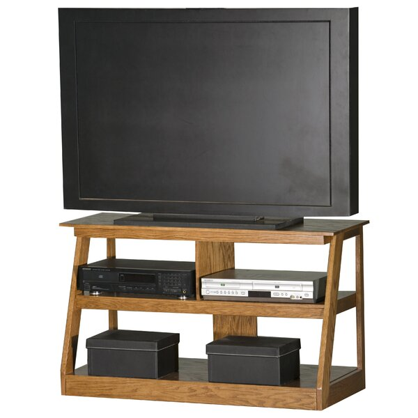 Pilar Solid Wood TV Stand For TVs Up To 55