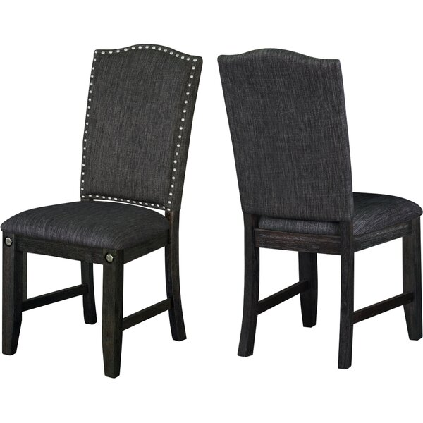 Dyer Avenue Upholstered Dining Chairs (Set of 2) by Darby Home Co