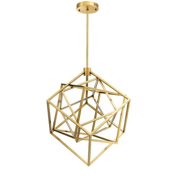 Fusion 1 - Light Statement Square LED Chandelier by Eichholtz Eichholtz