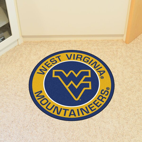 NCAA West Virginia University Roundel Mat by FANMATS