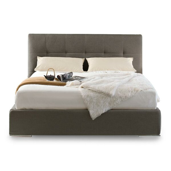 Swami King Upholstered Platform Bed by Calligaris