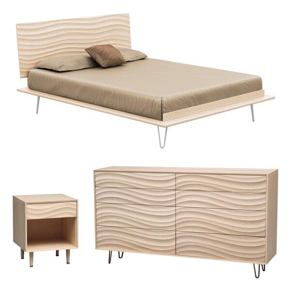 Wave Platform Configurable Bedroom Set by Copeland Furniture