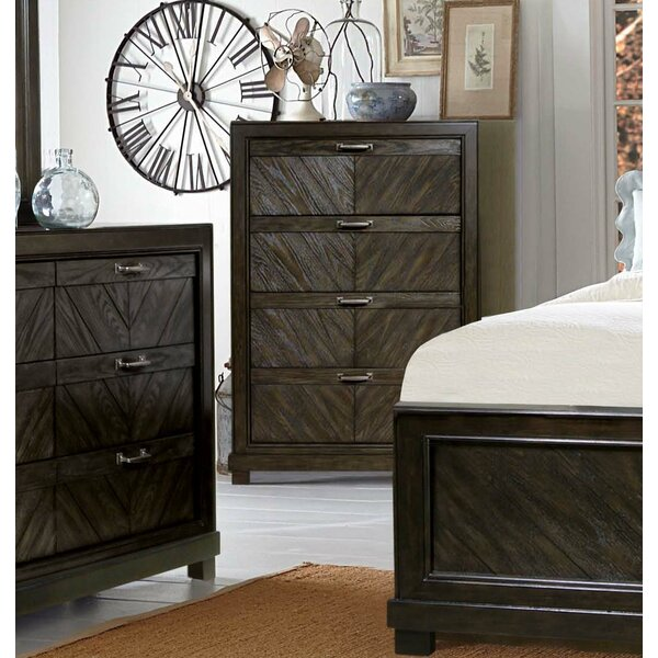Vachel 4 Drawer Chest by Gracie Oaks