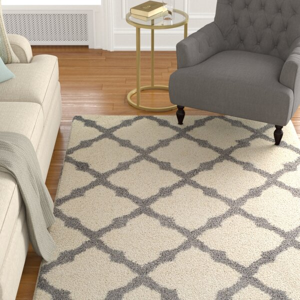 Tilman Ivory Area Rug by Alcott Hill