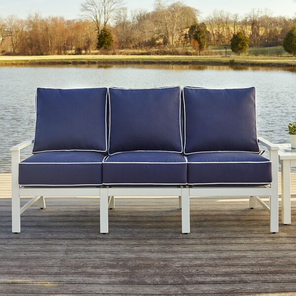 Riveria 4 Piece Sunbrella Sofa Set with Cushions by Birch Lane™