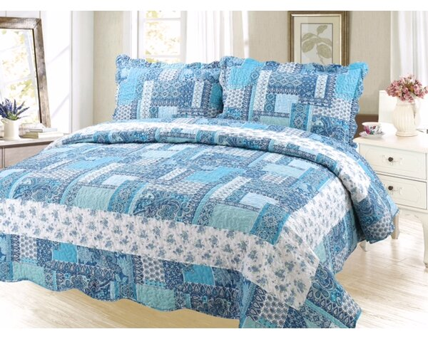 Cameron Modern Reversible Quilt Set by August Grove