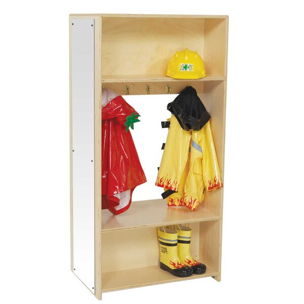 1 Section Coat Locker by Wood Designs