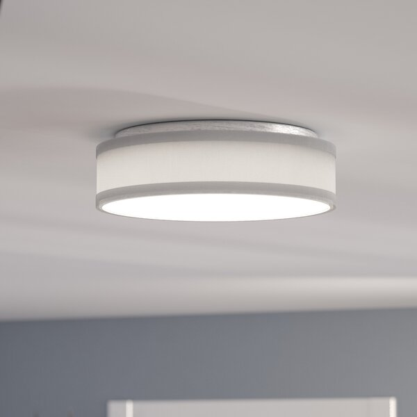 Benning 1-Light LED Flush Mount by Mercury Row