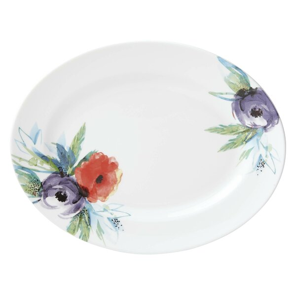 Passion Bloom Oval Platter by Lenox