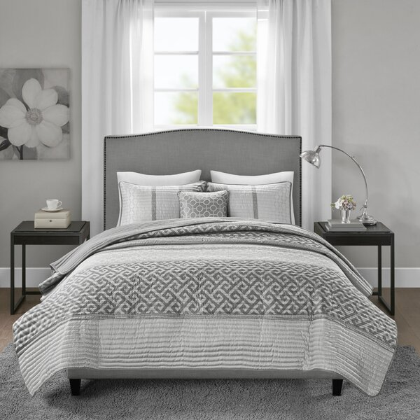 Apollonia Jacquard Coverlet Set by Willa Arlo Interiors