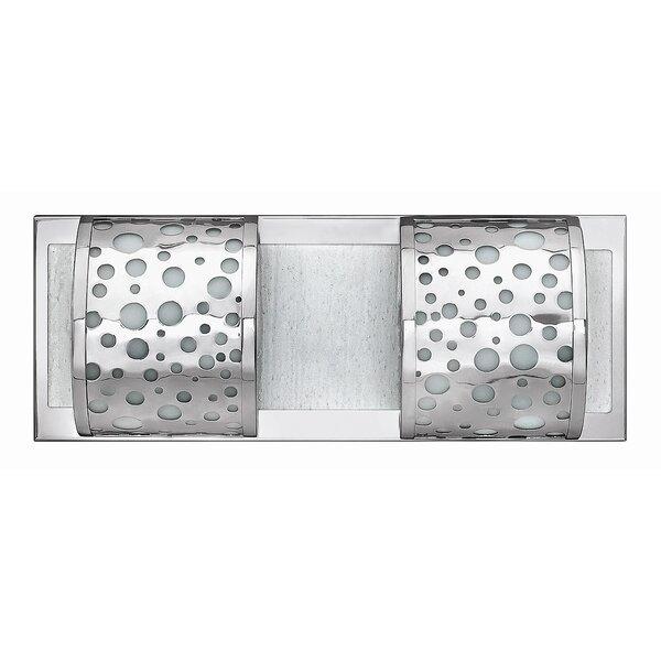 Mira 2-Light Bath Bar by Fredrick Ramond