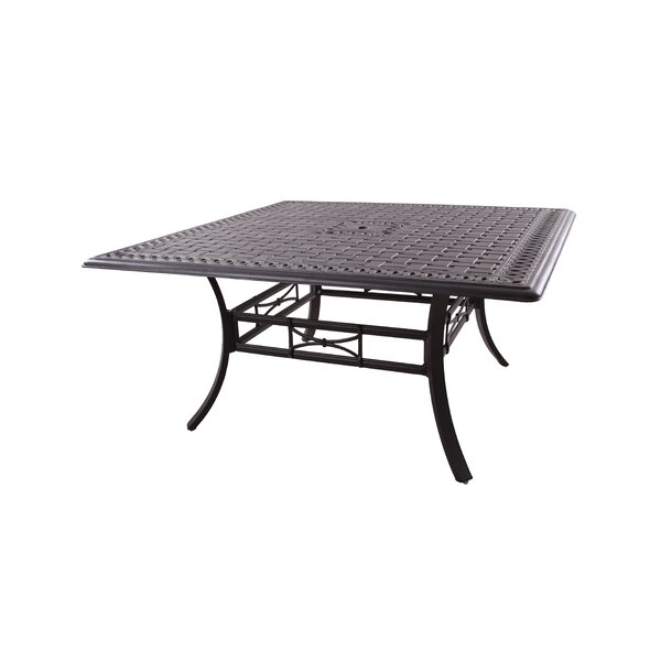 Trym Metal Dining Table by Darby Home Co